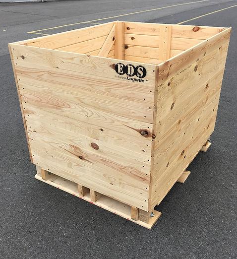 palox endives, caisse pour endives,  chicory box, vegetable and fruit box, storage box