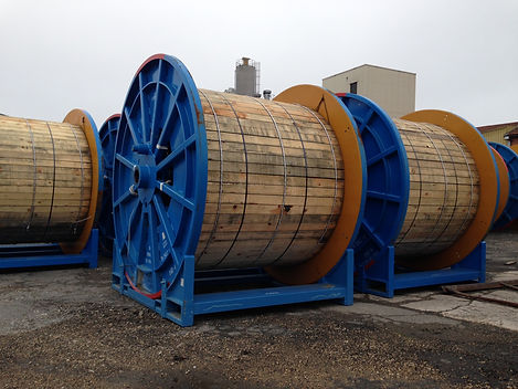 protection for cable wooden reels, lagging for cable drums, protection for cable spools, safe transportation of cable drums