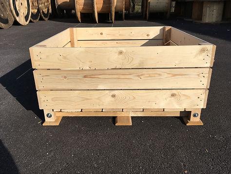 palox kiwis, caisse kiwis,  kiwi box, vegetable and fruit box, storage box