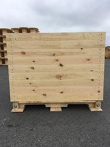 palox endives, caisse endives,  chicory box, vegetable and fruit box, storage box