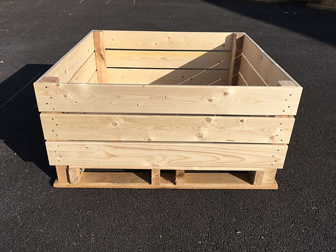 palox kiwis, caisse kiwis,  kiwi box, vegetable and fruit box, storage box
