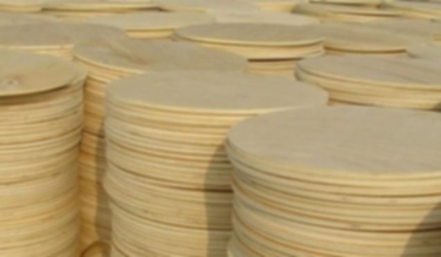 plywood discs raw materials