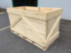 palox pomme de terre 2T, potato box, vegetable and fruit box, storage box
