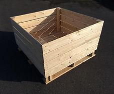 Palox, fruit box, storage wooden boxes, apple box
