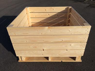 apple storage box, palox pomme, wooden storage boxes
