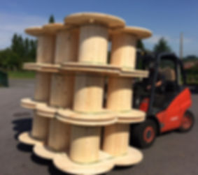 cable wooden reels, timber spools, cable wood drums