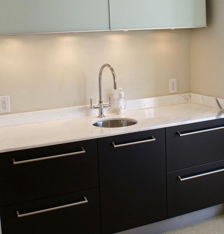 New sink installation