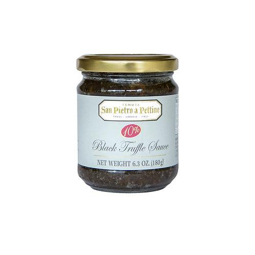 Black Truffle Sauce 10%, 6.3 oz (180 g)