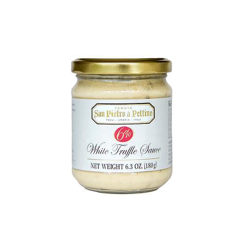 White Truffle Sauce 6%, 6.3 oz (180 g)