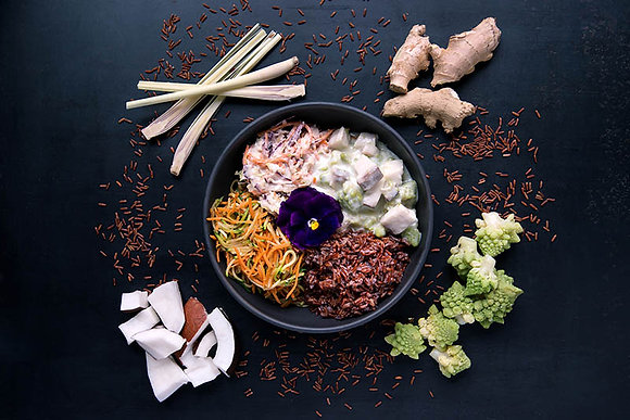 Thai Bowl with Cod Fish