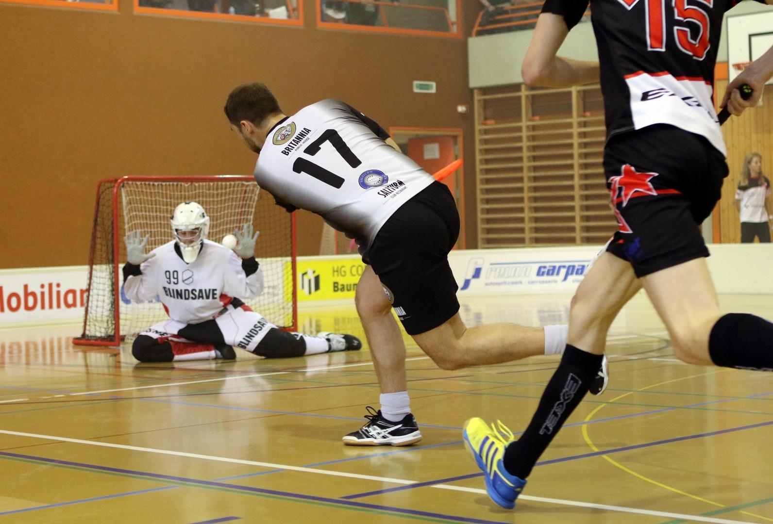 Unihockey Frutiger Marco Blacknosesheep.