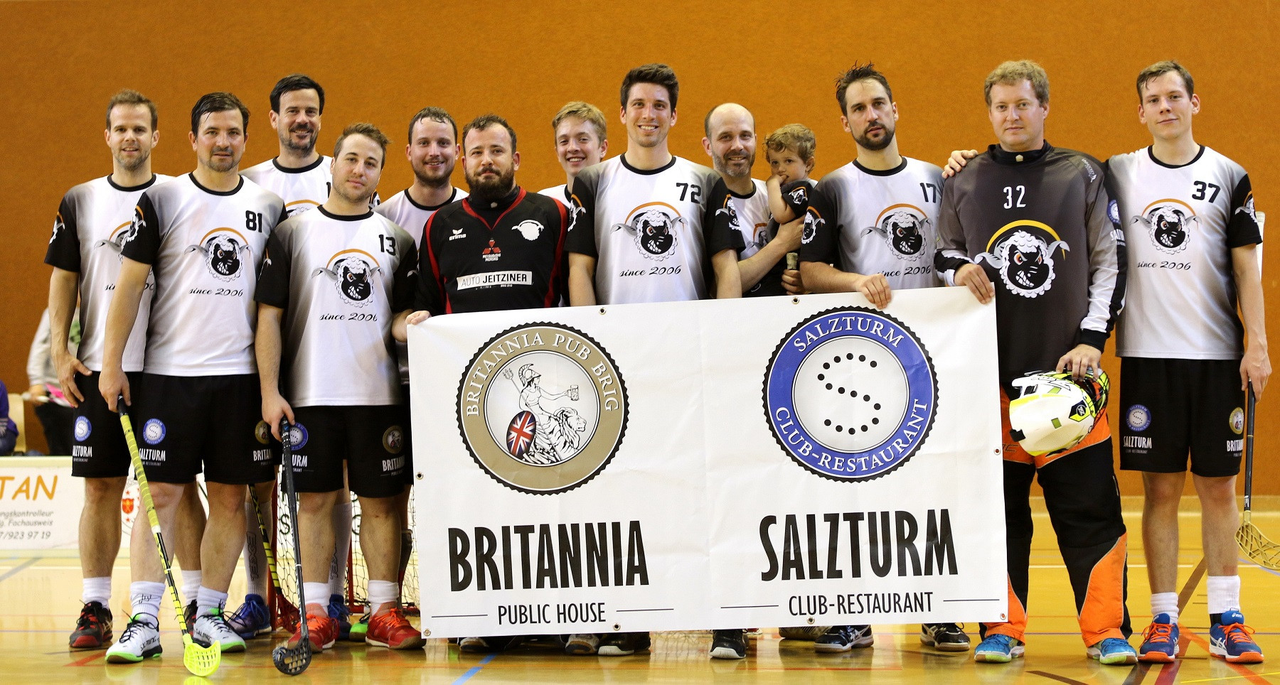 Blacknoseshep Unihockey Cup Naters VS Un