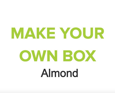 Make Your Own Box of 12 (Almond)