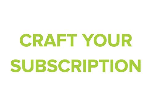 Customized Subscription
