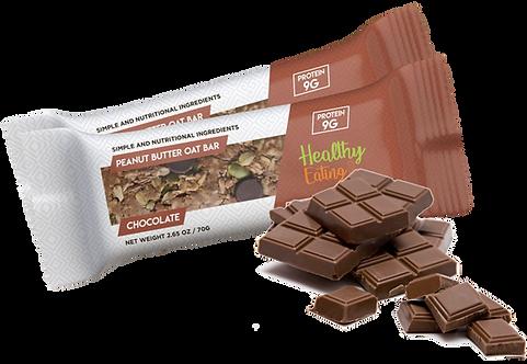 Chocolate Oat Bar Box of 12