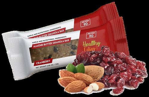 Almond Cranberry Box of 12
