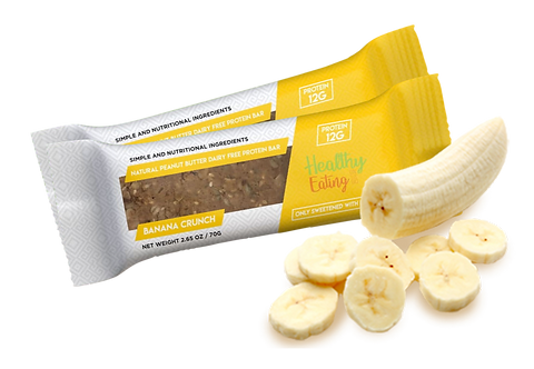 Banana Crunch Box of 12