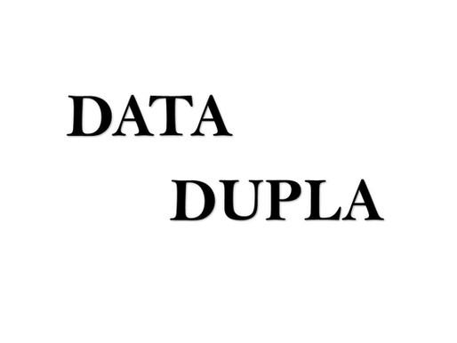 DATA DUPLA