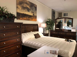 bedroom cottage wood