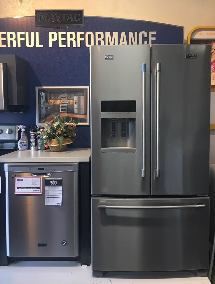 Kitchen packages from Maytag, Whirlpool, and Kitchenaid