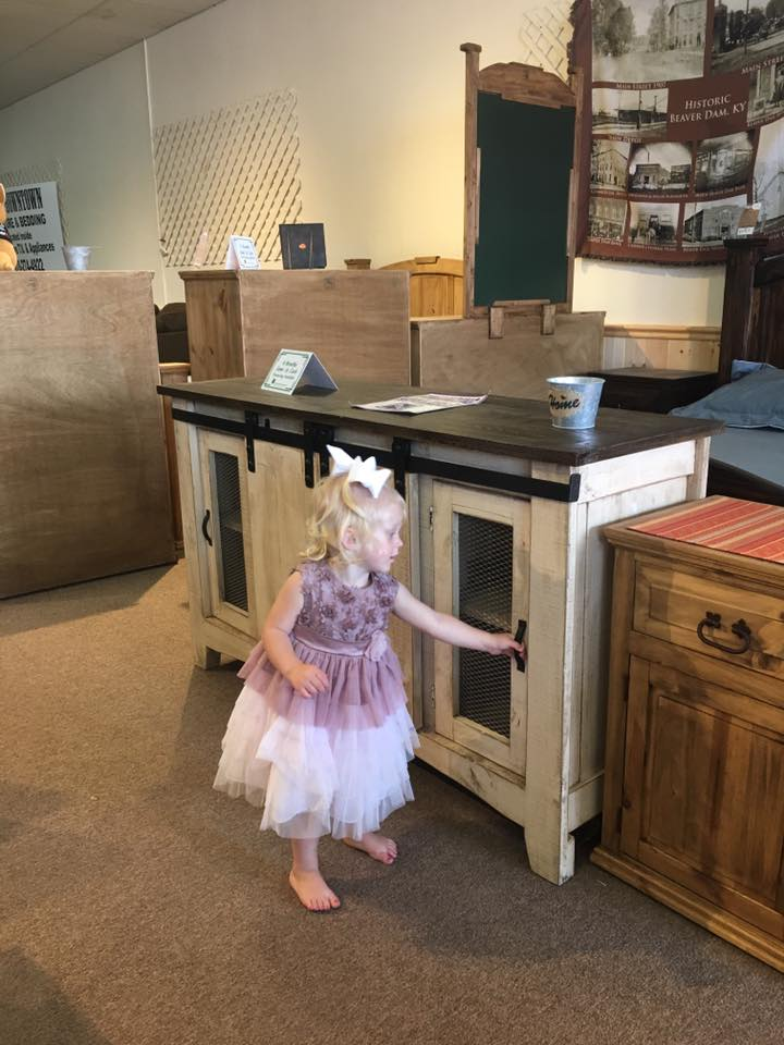 A Princess Shows us the Furniture