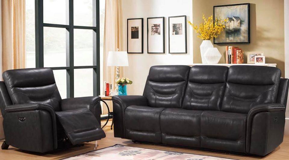 bullard leather dark gray