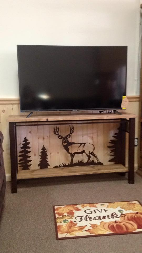 buck tv stand