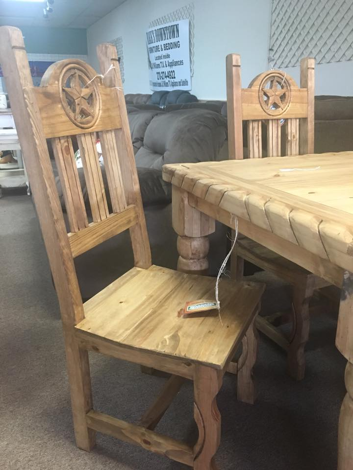 Custom Chairs and table from Rustic