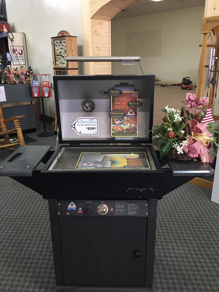 Holland Grills Convection Grilling