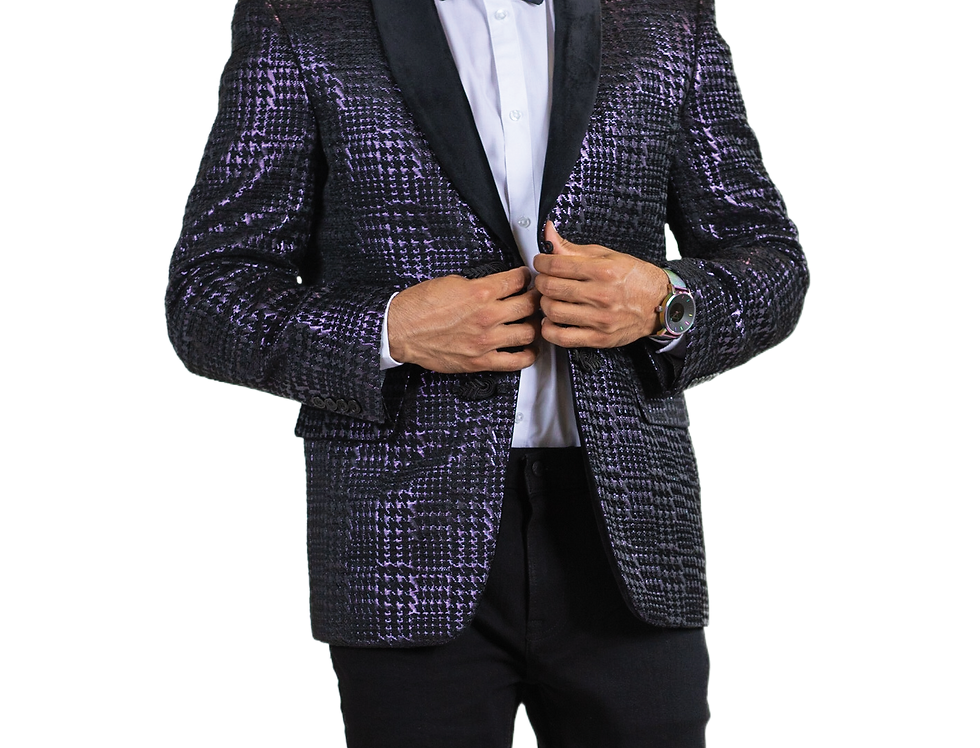 BLUE MARTINI I 8066 ZANE T SPORT COAT I RASPBERRY 939