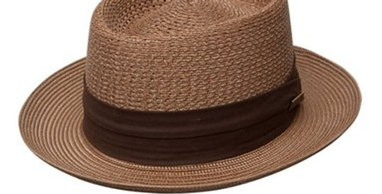 DOBBS I BISHOP STRAW HAT I COGNAC