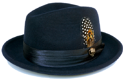 UN-100 I BRUNO CAPELO GIOVANI HAT I BLAC