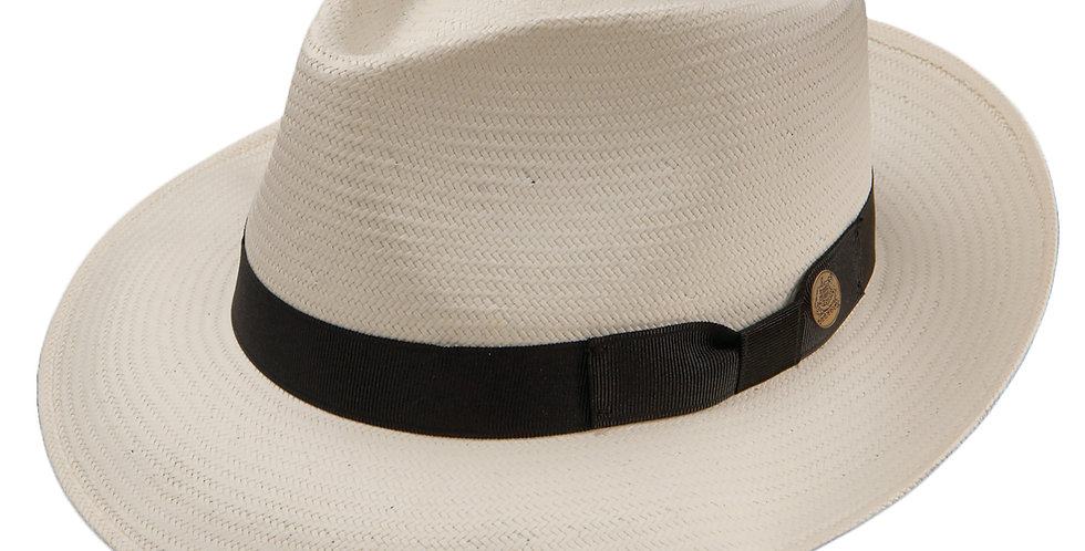 STETSON-RewardStraw Fedora Hat-Netural