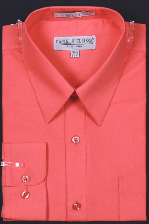 DS3001 I DANEL ELLISA DRESS SHIRT I CORAL