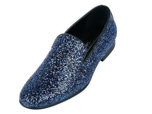 FREDERICO LEONE I FS-355 SPARKLE SHOES I BLUE