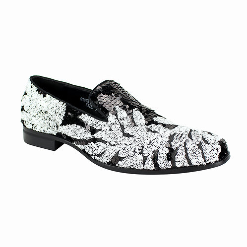AFTER MIDNIGHT SHOES | 6733 | BLACK/WHITE