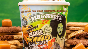 Ben & Jerry's and Colin Kaepernick Unite to Change the Whirled