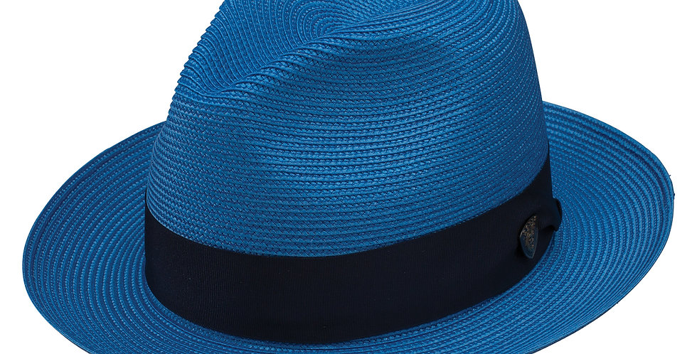 DOBBS I ROSEBUD STRAW HAT I  ROYAL