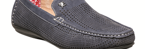 25089 I STACY ADAMS PIPPIN DRIVING SHOES I NAVY