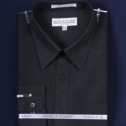 DS3001 I DANEL ELLISA DRESS SHIRT I BLACK