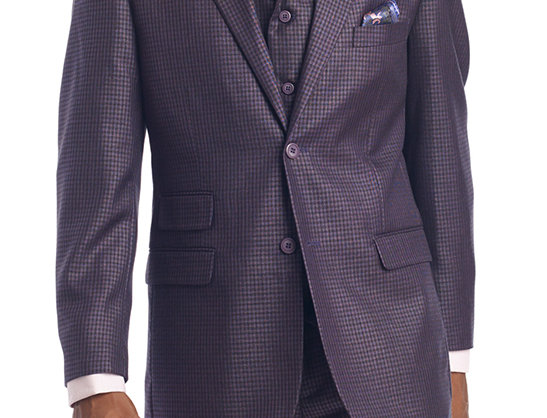 M2694.KNET & PARK SUIT-GRAPE