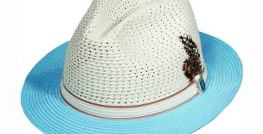 STACY ADAMS I Fedora I SA44 I Light Blue