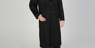 L40913X I Montefino Men's 'Harvard' Camel Cashmere Blend Long Top Coat