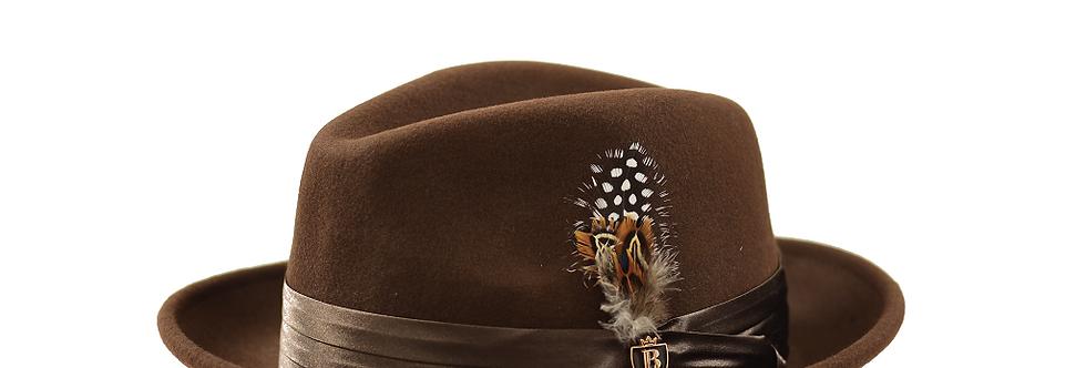 UN-101 I BRUNO CAPELO GIOVANI HAT I BROWN
