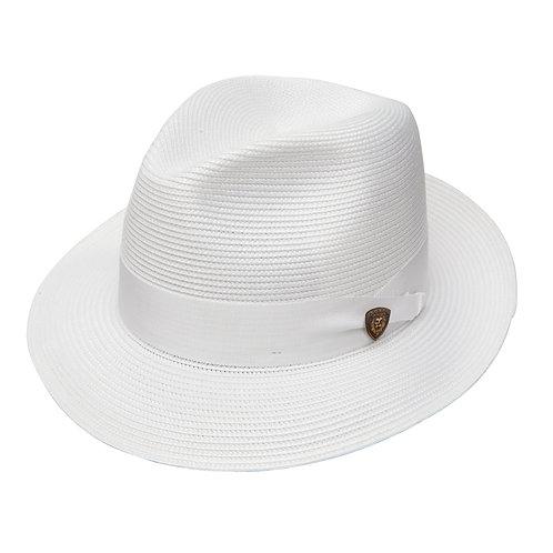 DOBBS I ROSEBUD STRAW HAT I WHITE