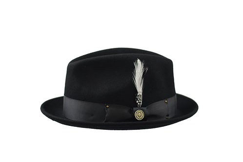 BB-200 I BRUNO CAPELO BLUES BROTHERS HAT I BLACK