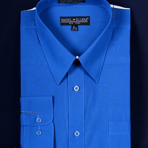 DS3001 I DANEL ELLISA DRESS SHIRT I ROYAL