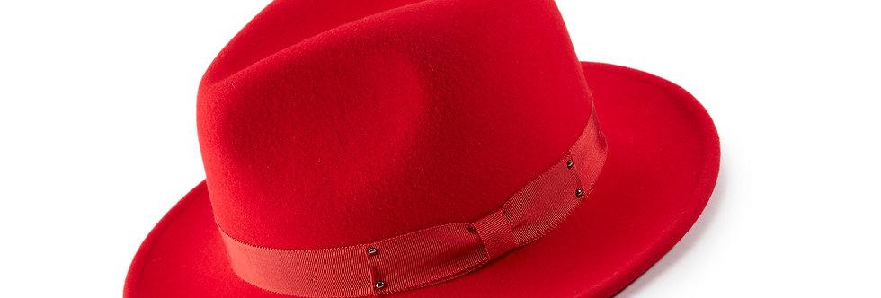 H-70 I MONTIQUE FELT HAT I RED