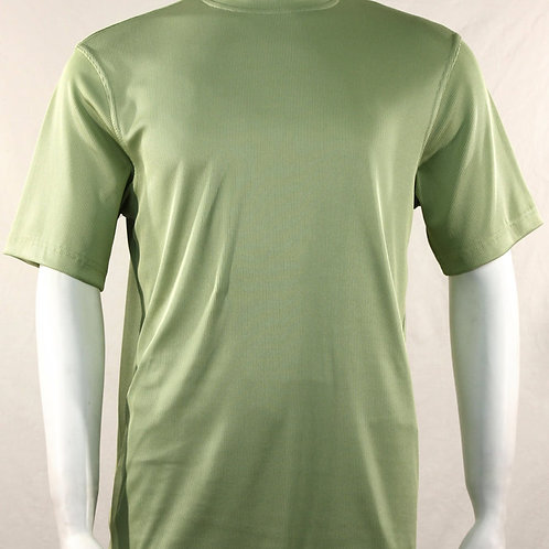Log-In By Bassiri -218 - Short Sleeve Mock Neck-Mint