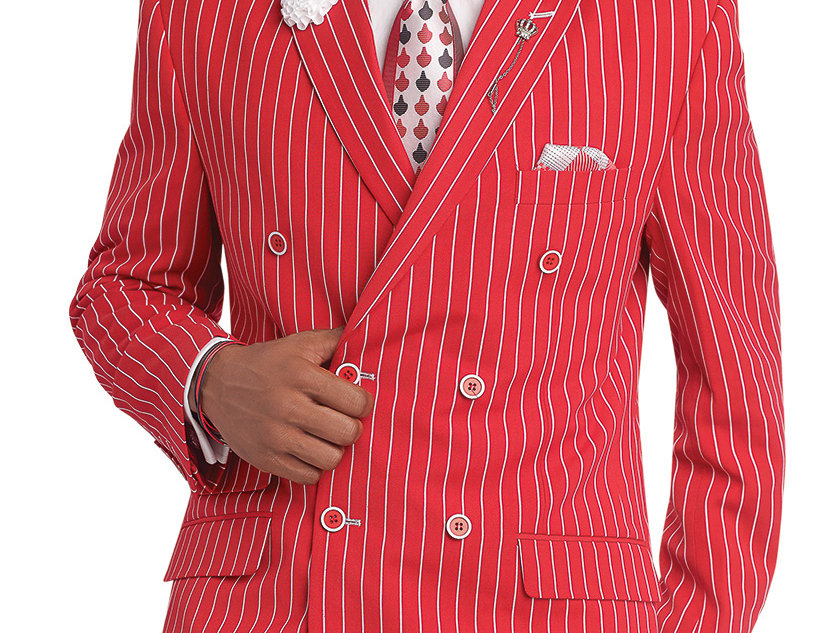 M2682 I EJ SAMUEL DB FASHION SUIT I RED